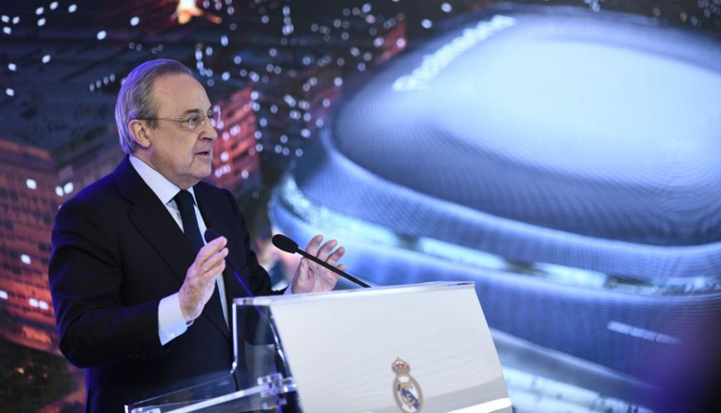 Real Madrid / Florentino / Santiago Bernabéu