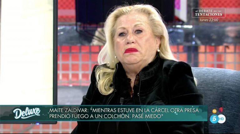 Sábado Deluxe: la frase con la que ha sentenciado Mayte Zaldívar a Isabel Pantoja