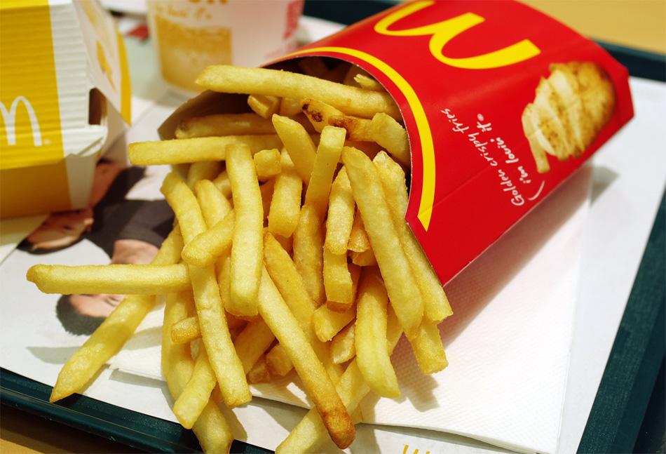 La relevancia de las patatas fritas