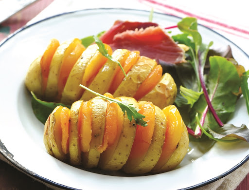 ¿Cómo preparar las patatas Hasselback?