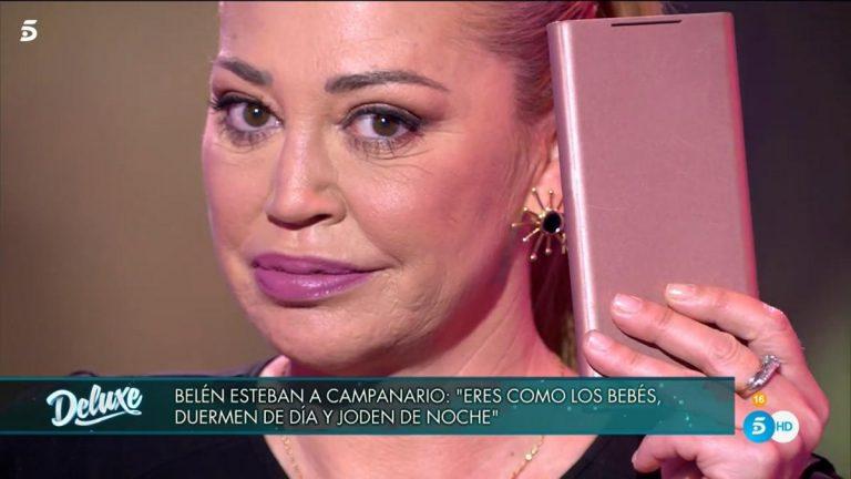 Las 'perlas' que Belén Esteban le ha enviado a María José Campanario