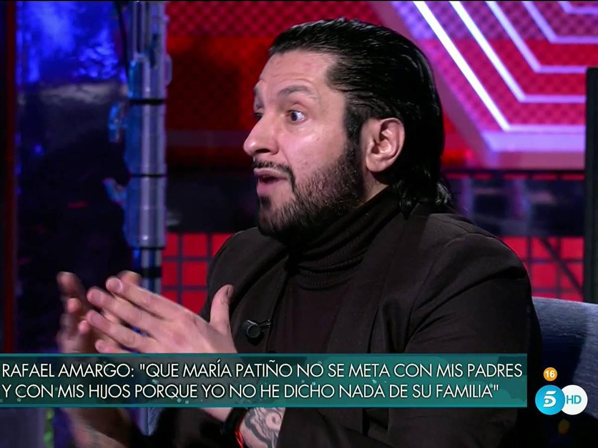 """El verdadero motivo por el que María Patiño y Rafael Amargo se llevan """"como el perro y el gato"""""""