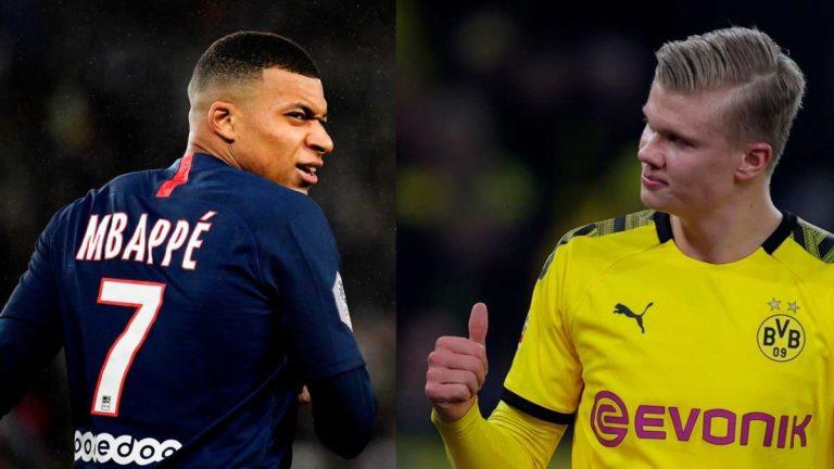 Erling Haaland y Kylian Mbappé: ¿las nuevas estrellas del fútbol?