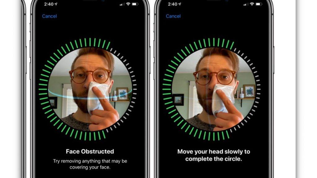 Desbloquear el iPhone con todo y mascarilla