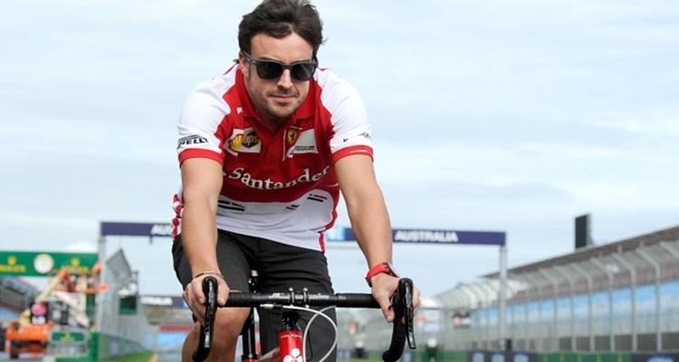 Ciclismo Fernando Alonso