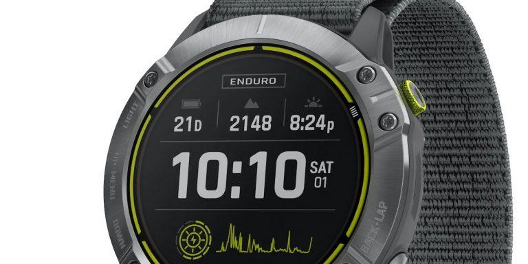 Garmin Enduro, un smartwatch todoterreno con 65 días de autonomía