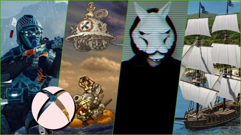 Estos son los juegos Gold que Xbox regala en marzo de 2021