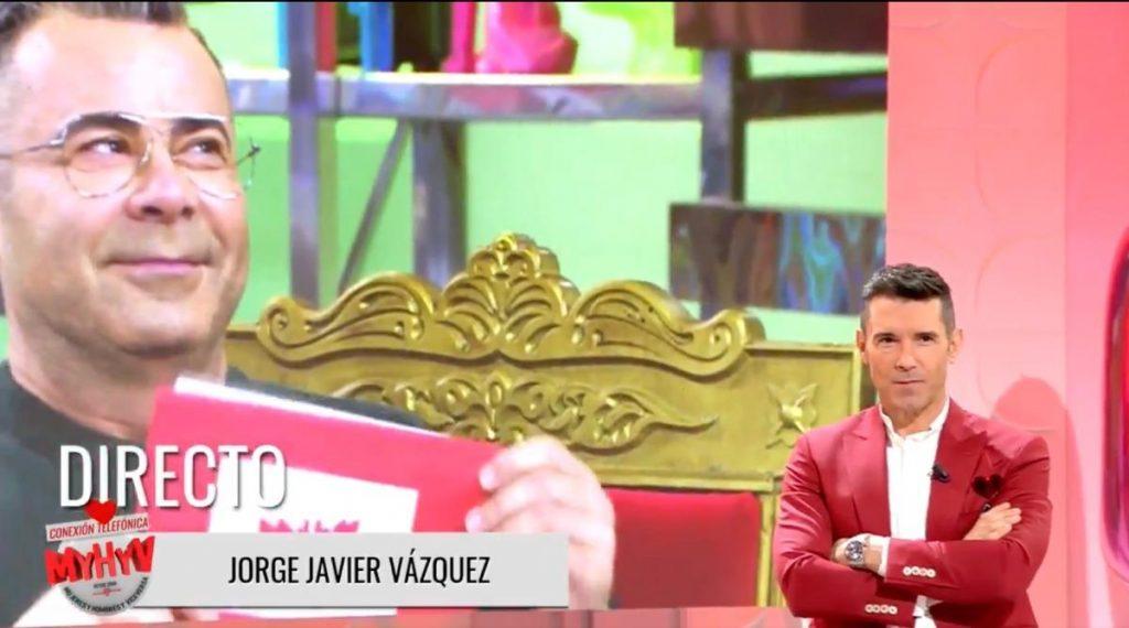 Jorge Javier Vázquez en MYHYV