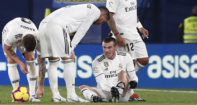 Lesiones Bale Hazard Real Madrid