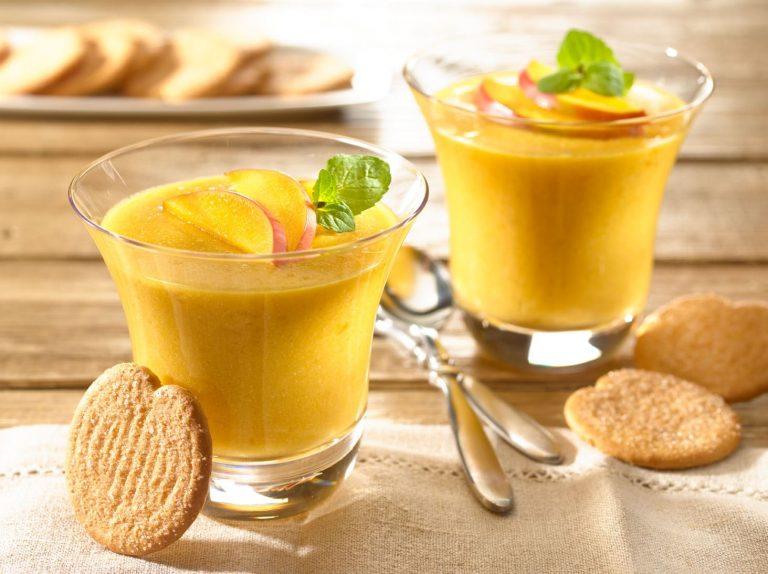 Cómo hacer un pudin de coco y mango