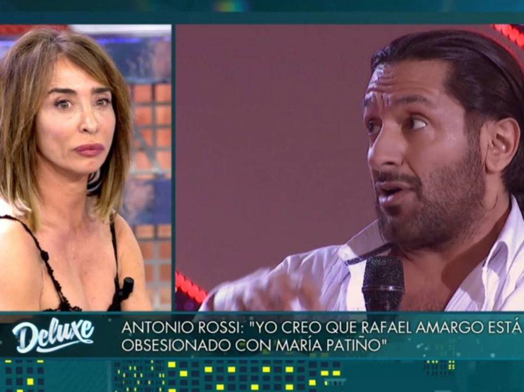 María Patiño y Amargo, una relación nada avenida.