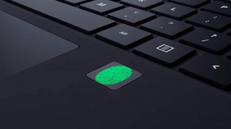 Protege tu intimidad: portátiles con lector de huellas dactilares