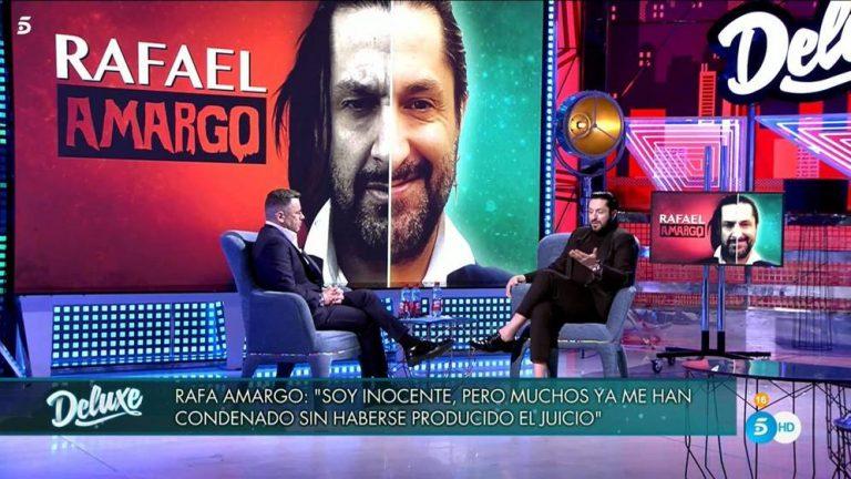 Rafael Amargo se abre en 'Sálvame Deluxe': sus fuertes confesiones sobre la droga