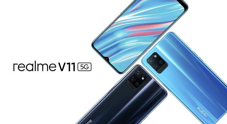 El Realme V11 5G es oficial con procesador MediaTek Dimensity y más