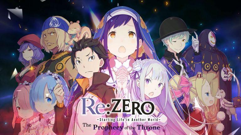 RE:Zero: The Prophecy of the Throne – La novela visual del anime de moda
