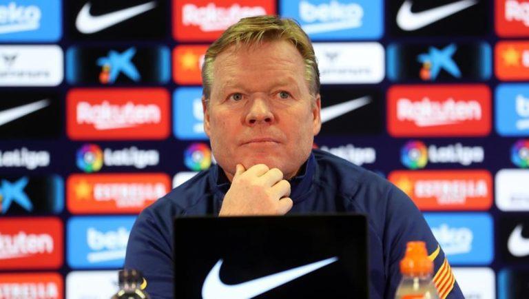 ¡Rebelión en el Barça! Los amotinados contra Koeman que lo quieren fuera