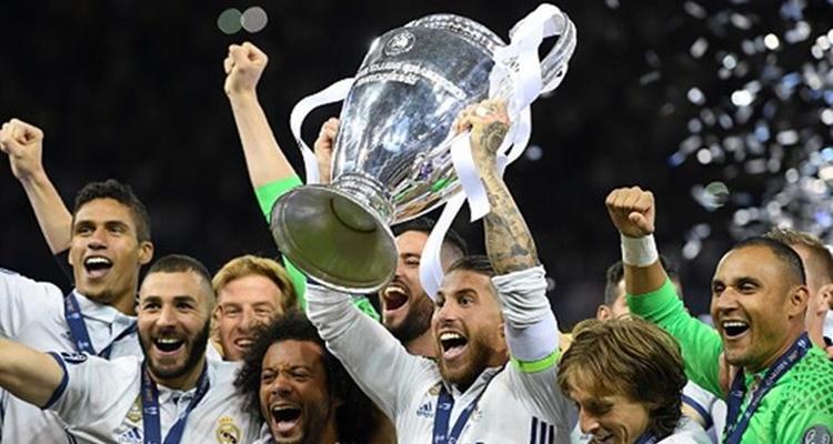 Jugador con más títulos blanco Real Madrid / Sergio Ramos