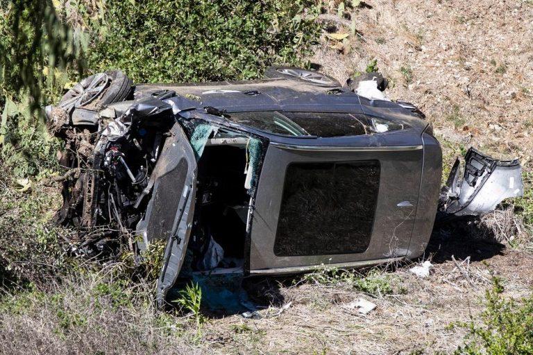 Tiger Woods: así ha sido el impresionante accidente que casi acaba con su vida