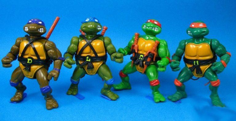 Las tortugas ninja, Gi Joe y otros muñecos de acción con los que jugabas en los 90
