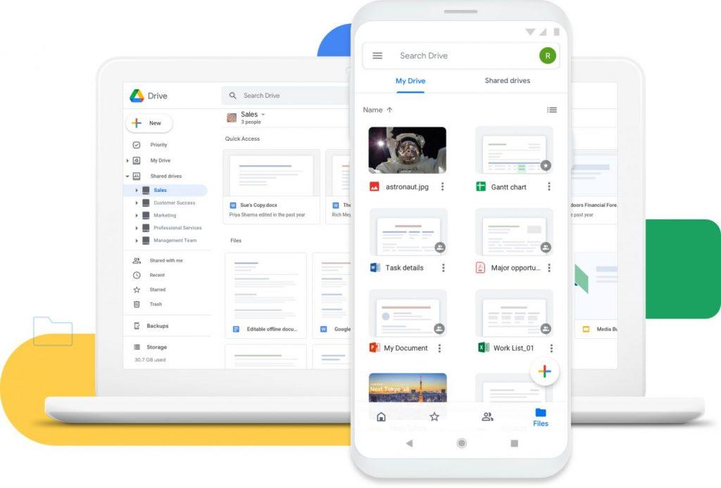 Cómo comprar una cuenta de Google Drive
