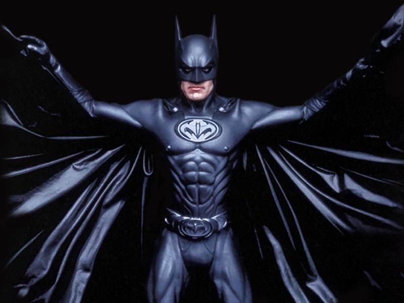 George Clooney y Batman y Robin (1997)