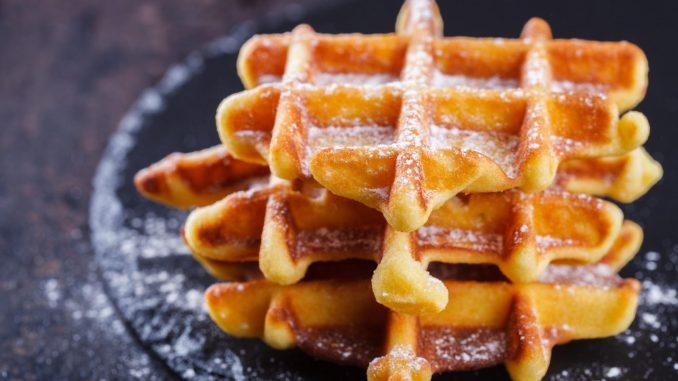 ¿Con qué acompañar los gofres caseros para el desayuno?
