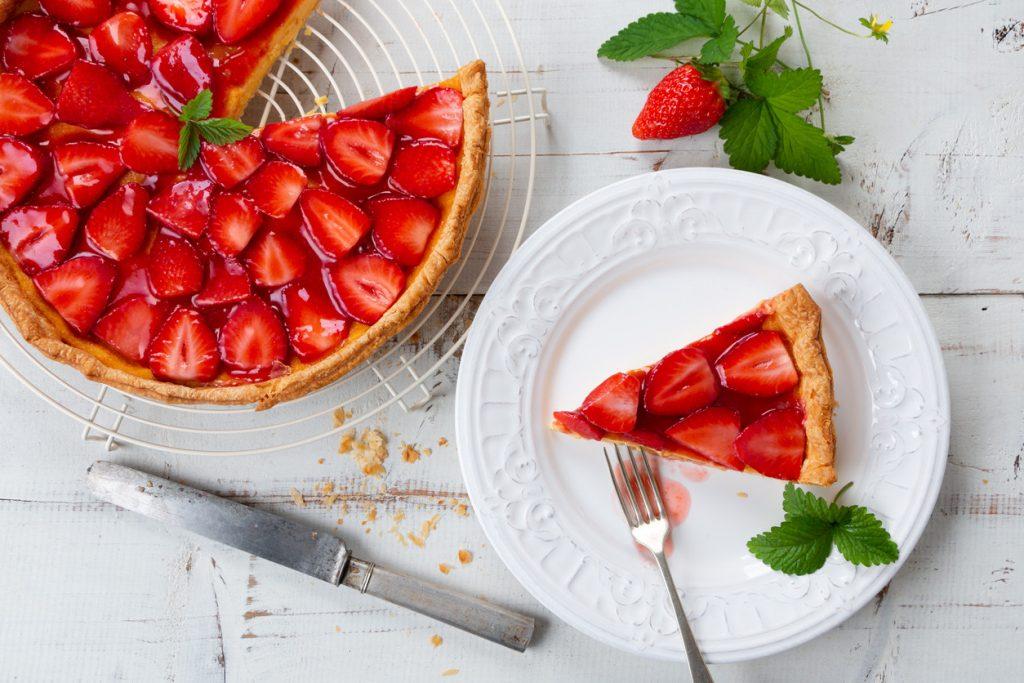Procedimiento para elaborar fresas caramelizadas o confitadas
