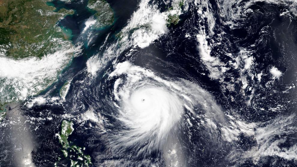 Denominación de un tifón según el lugar