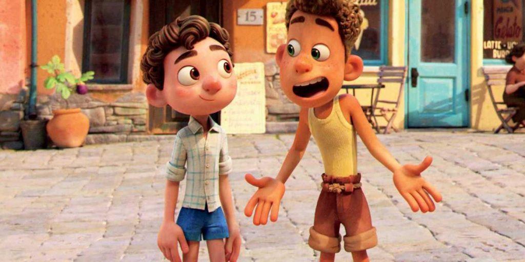El arribo de Luca al mercado Pixar en Disney+