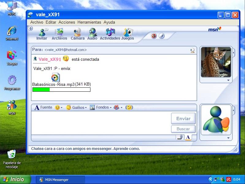 El avatar en la mensajería instantánea