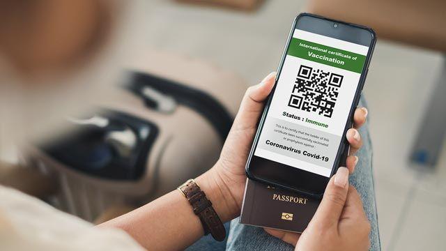 Información del certificado verde digital