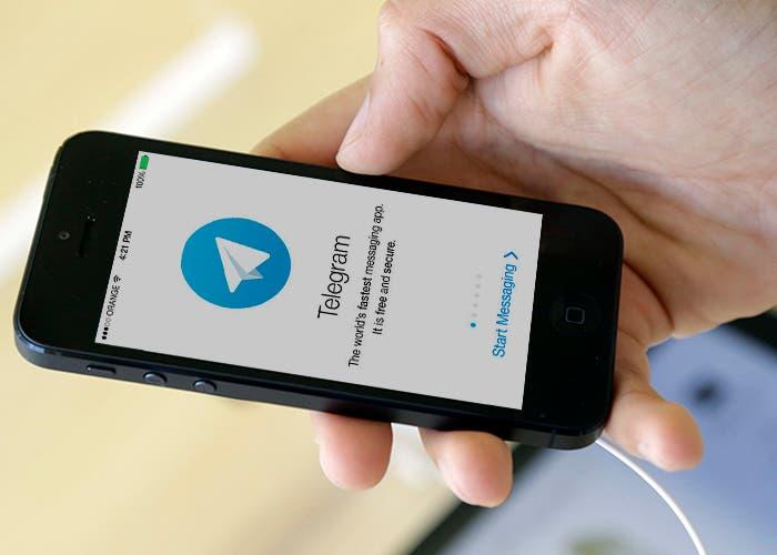 La imponencia en las redes con Telegram