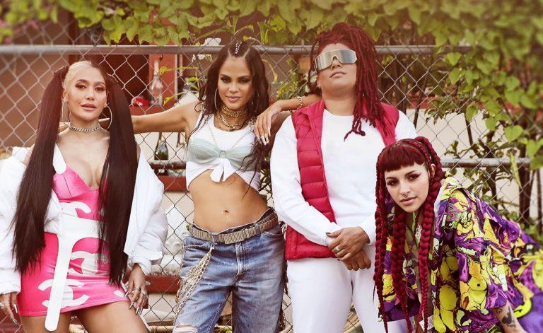 Natti Natasha presenta 'Las nenas' junto a Cazzu, Farina y La Duraca