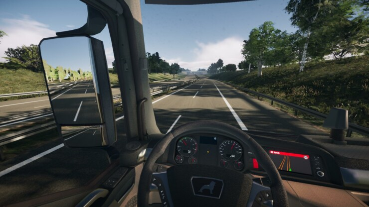 On the Road: Truck Simulator – Yo para ser feliz quiero un simulador de camión