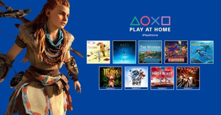 PS5: Qué juegos están gratis y cómo descargarlos con Play At Home