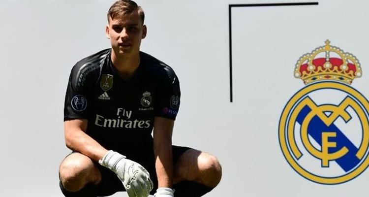 Andriy Lunin, Real Madrid Florentino Pérez