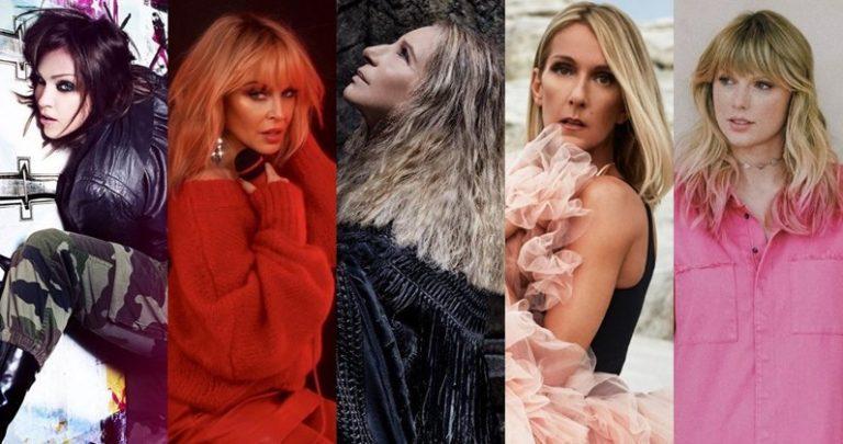 Las cantantes femeninas con más albums #1 en U.K.