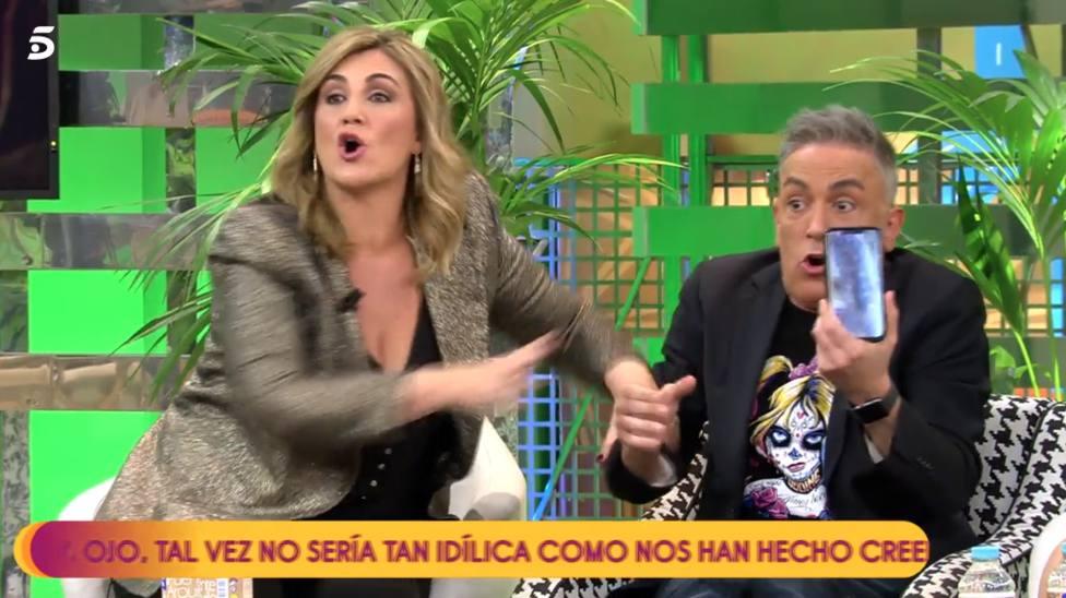 El pique de Carlota Corredera y Kiko Hernández, y otros que han azuzado la audiencia de Sálvame
