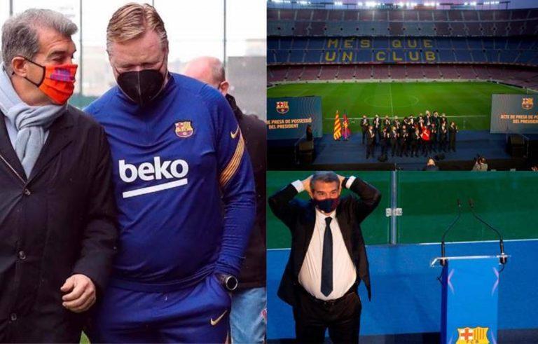 FC Barcelona: estos son los fichajes que Koeman ha pedido a Laporta