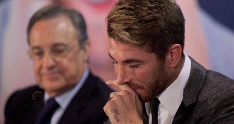 """Sergio Ramos vs Florentino Pérez: las tensiones que impiden una renovación """"pacífica"""""""