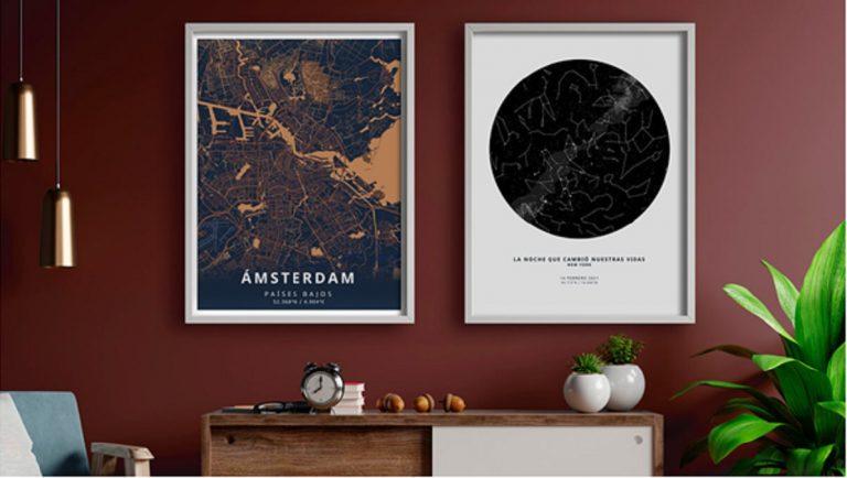 The Unique Poster, los pósters personalizados que atesoran momentos