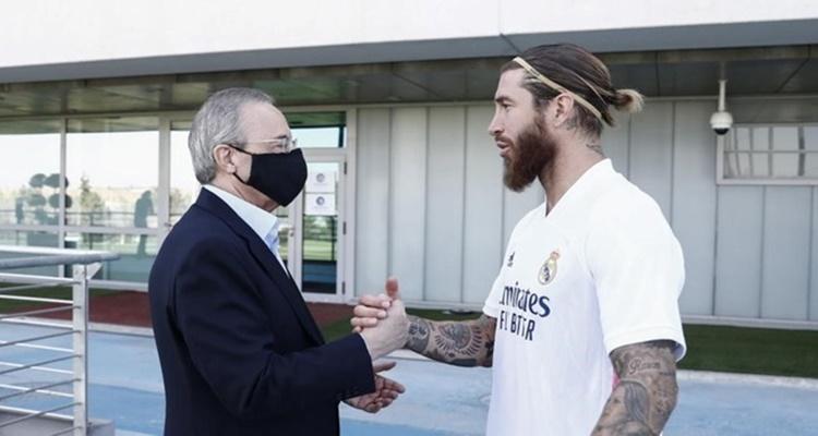 Florentino Pérez / Real Madrid / Sergio Ramos