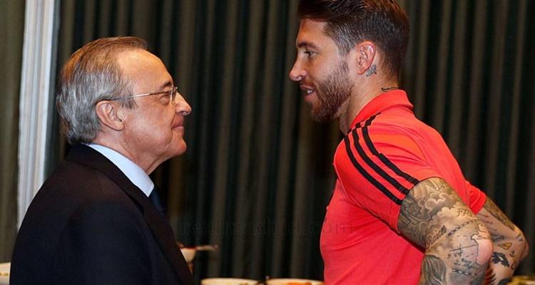Sergio Ramos Florentino Pérez renovación Real Madrid