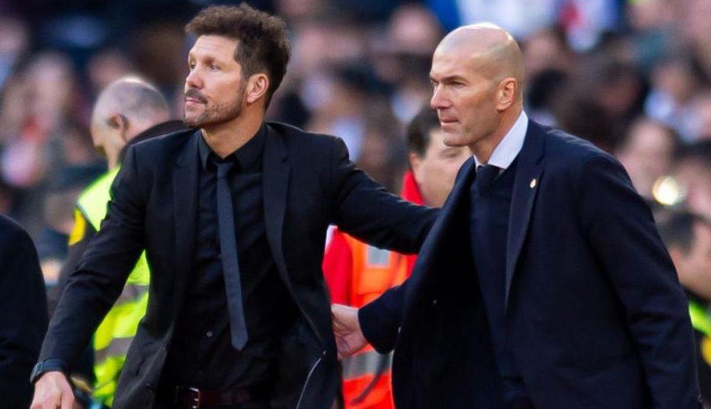 Sorpresa Zidane Simeone derbi