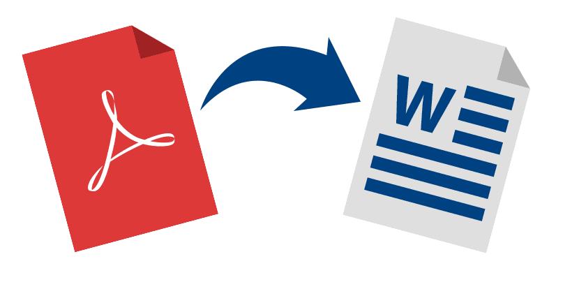 ¿Cómo cambiar un archivo PDF a Word?