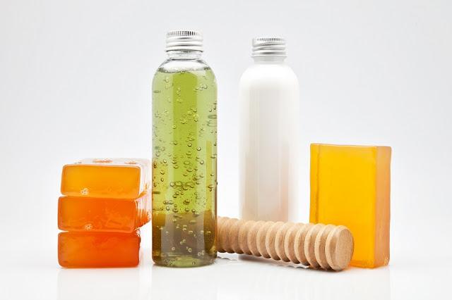Gel de baño , un producto que puede ser 100% natural