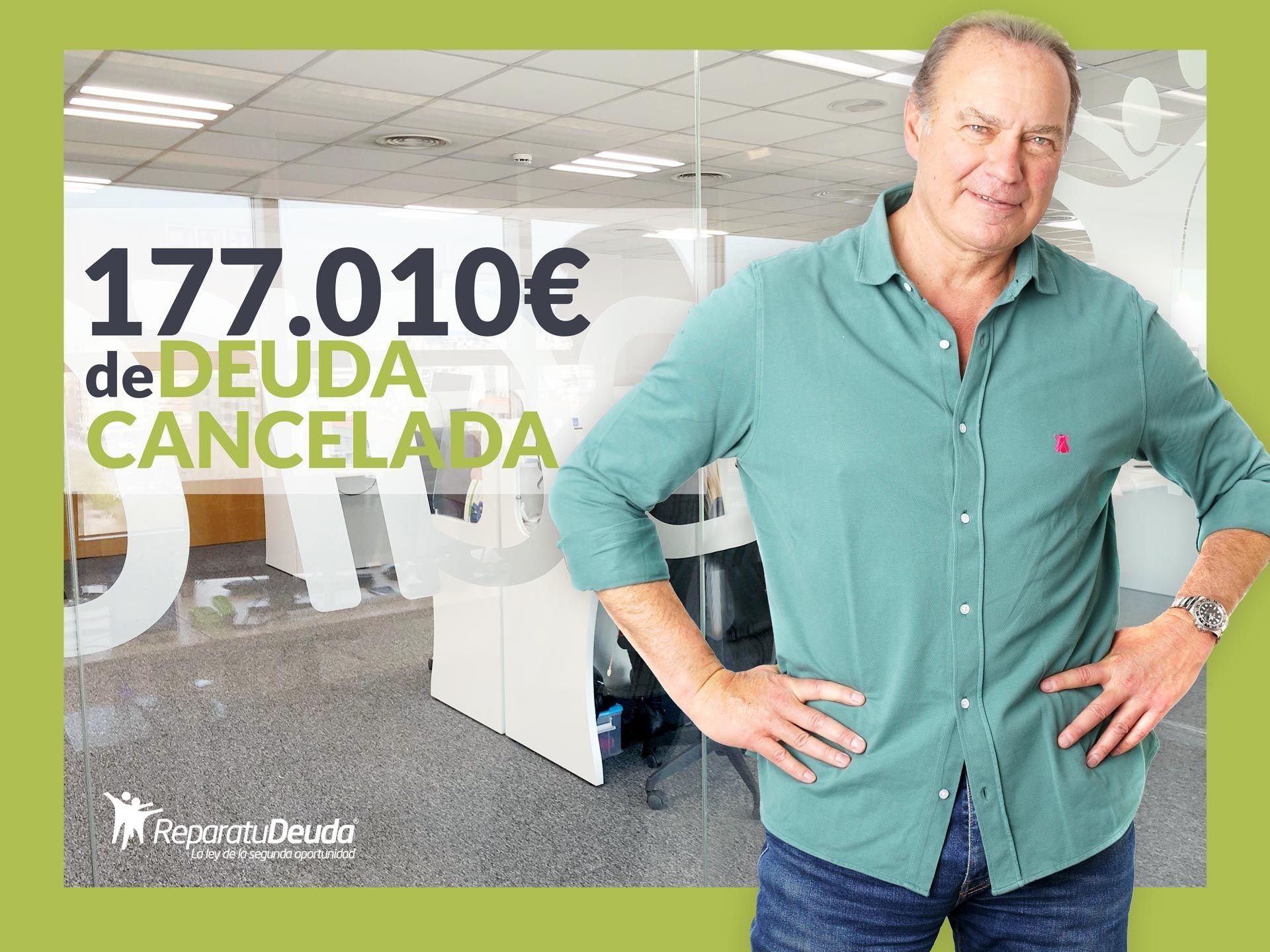 Repara tu Deuda Abogados cancela 177.010 ? en Carcaixent (Valencia) con la Ley de Segunda Oportunidad