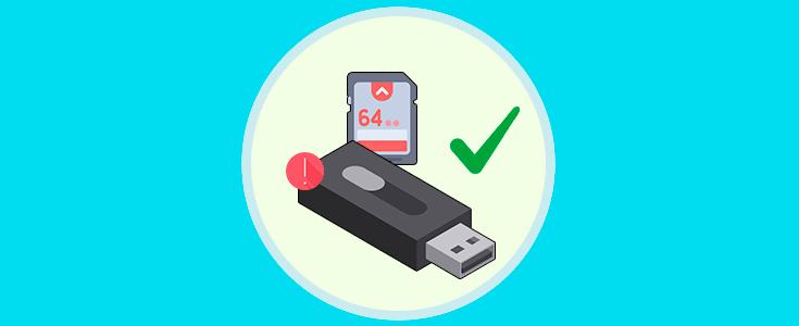 Cómo recuperar la información de una USB