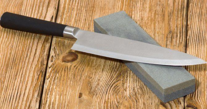 Herramientas para mantener afilado un cuchillo
