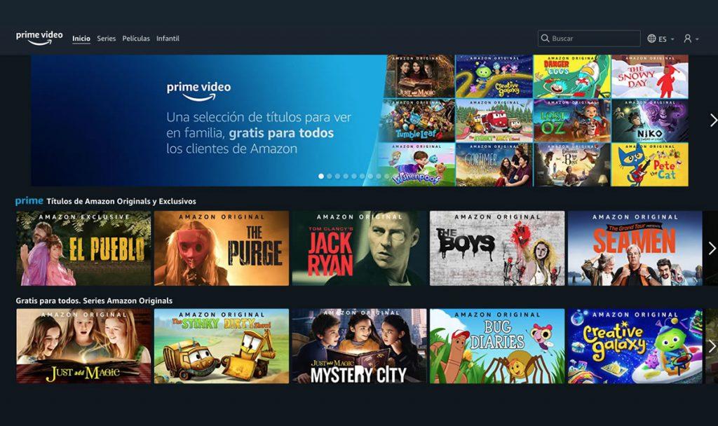 ¿Qué es Amazon Prime Video?